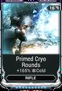 PrimedCryoRoundsMod