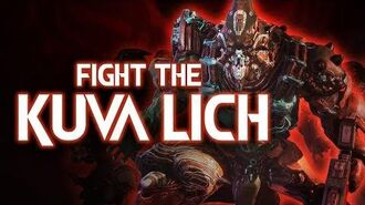 Warframe The Old Blood Fight the Kuva Lich
