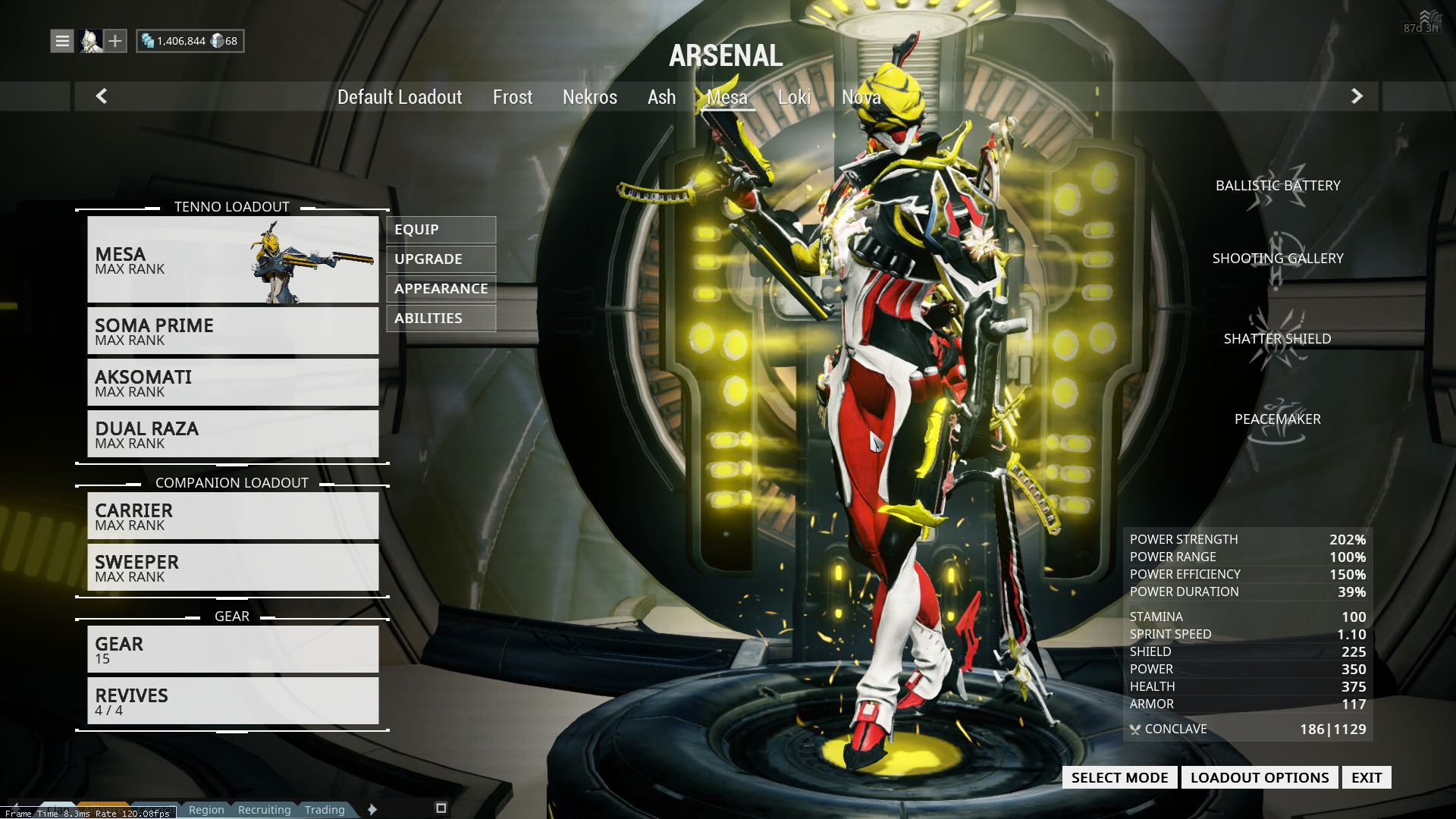 Warframe best weapons 2015 - Current 23 20 June 10 2015