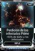 Perdición de los infestados Prime