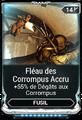 Fléau des Corrompus Accru
