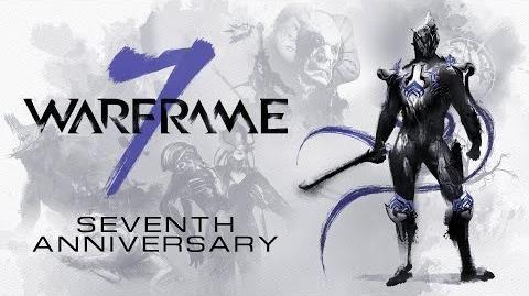 Warframe 7 Year Anniversary - Free Rewards all March long