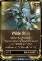 Mod Augment WildeStille
