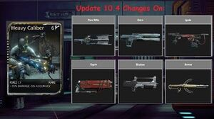 Warframe Heavy Caliber After Update 10
