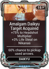 Amalgam Daikyu Target Acquired