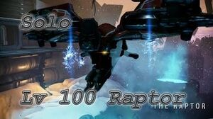WARFRAME Solo Lv100 Raptor sniper only with builds