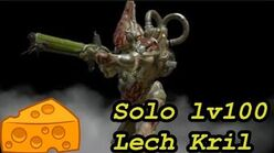 WARFRAME solo lv100 Lech Kril with builds