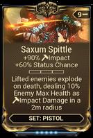 Saxum Spittle