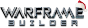 Logo warframe builder xmas