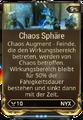 Mod Augment ChaosSphäre