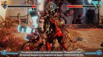 Warframe Frame Fight All Abilities