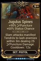 Jugulus Spines