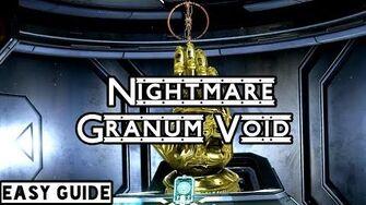 Nightmare Granum Void Builds & Guide