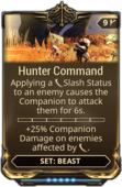 HunterCommandMod