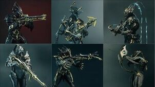 Warframe - All Prime Primaries - Weapon Animations & Sounds (2013 - 2019)