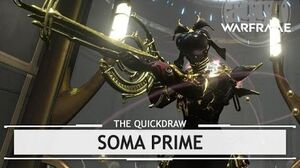 Warframe Soma Prime, Shiny Pretty Things thequickdraw