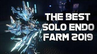 Warframe THE BEST SOLO ENDO FARM METHOD 2019