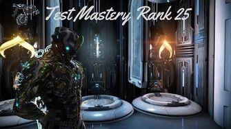 Warframe Test Mastery Rank 25 FR