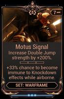 Motus Signal