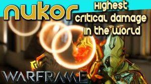NUKOR - A HARROW EXPERIENCE 4 forma - Warframe