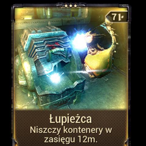 <b>Łupieżca</b><br />Niszczy kontenery w swoim zasięgu.