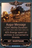 Augur Message