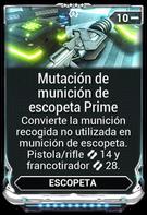 Mutación de munición de escopeta Prime