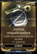 Justicia resquebrajadora