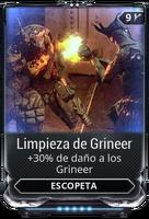 Limpieza de Grineer