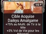 Cible Acquise Daikyu Amalgame