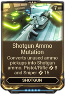 Shotgun Ammo Mutation