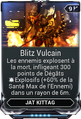 Blitz Vulcain