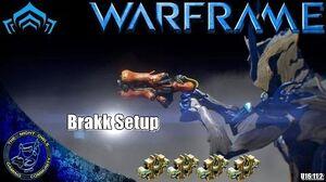 Warframe BRAKK 4x Forma Setup (U16.11
