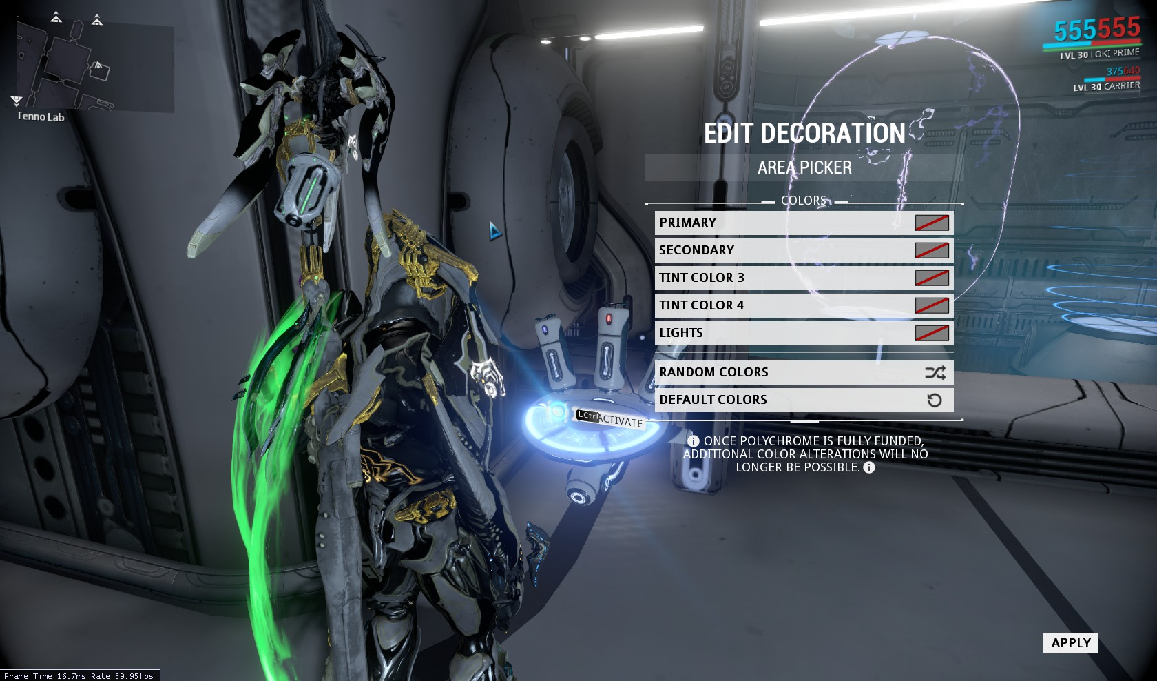 warframe how to get archwing blueprints