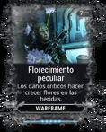 Florecimiento peculiar