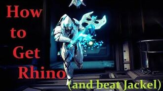 How to Get Rhino Warframe