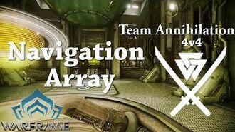 Warframe Conclave Team Annihilation Navigation Array