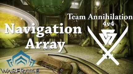 Warframe Conclave Team Annihilation Navigation Array
