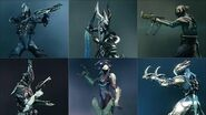 Warframe - All Tenno Secondaries - Weapon Animations & Sounds (2012 - 2019)