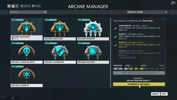 ArcaneManager