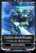 Cañón electrificado