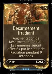 Desarmement irradiant