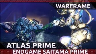 Warframe ENDGAME ATLAS PRIME BUILD & SETUP