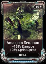 Amalgam Serration