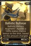 Ballistic Bullseye