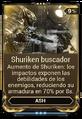 Shuriken buscador