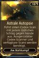 AW Nahkampf Astrale Autopsie