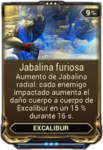 Jabalina furiosa