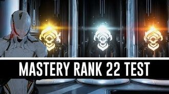 Mastery Rank 22 Test & All You Need To Know (Warframe)