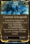 Mod Augment EisernesSchrapnell